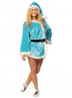 Купить Карнавальный костюм СНЕГУРОЧКА  для взрослых