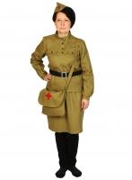 Купить Карнавальный костюм для взрослых Медсестра Военная ВЗР