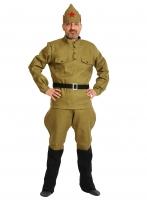 Купить Карнавальный костюм для взрослых Красноармеец ВЗР.