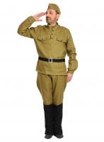 Купить Карнавальный костюм для взрослых Солдат ВЗР