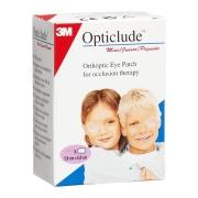 Глазные клеящиеся пластыри Оптиклюд Opticlude бежевые 0-3 лет