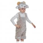 Детский карнавальный костюм из плюша Барашек