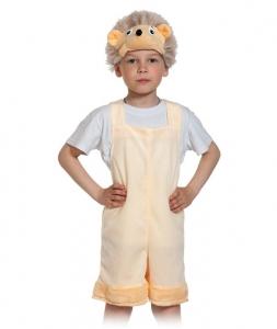 Детский карнавальный костюм из плюша Ежик