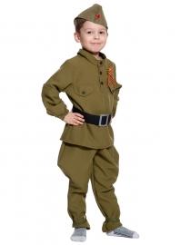 Детский карнавальный костюм Солдатик