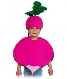 Детский карнавальный костюм Редиска