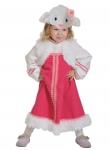Детский карнавальный костюм Овечка Кудряшка
