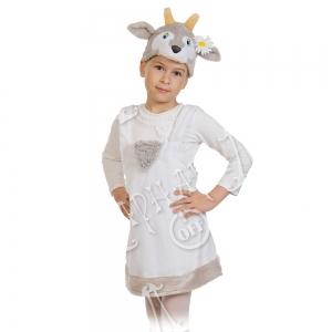 Детский карнавальный костюм из плюша Козочка
