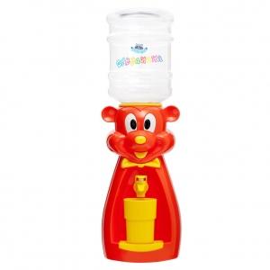 Детский кулер для воды Мышка красная с желтым — АкваНяня