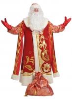 Купить Костюм Дед Мороз для взрослых Хохлома