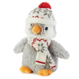 Игрушка-грелка Пингвин-пигги в шапочке
