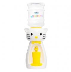 Детский кулер для воды  кот Китти белый с желтым — АкваНяня