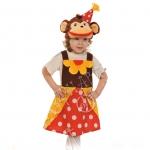 Детский карнавальный костюм Мартышка из цирка