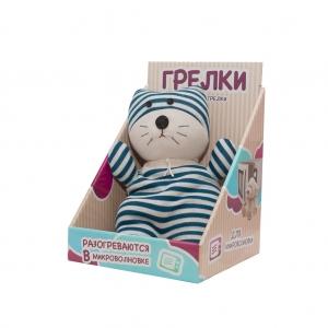 Игрушка грелка WARMIES SOC-CAT-1 Socky Dolls Кот Куртис