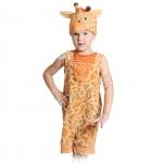 Детский карнавальный костюм из плюша Жирафчик