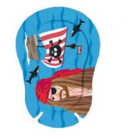 Купить Окклюдеры детские Ортопад для мальчиков | Большие картинки Пират