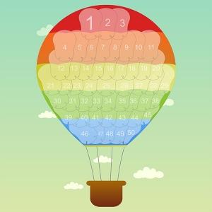 Мотивационный плакат Воздушный шар