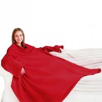 Купить Летний плед с рукавами Sleepy Summer Red