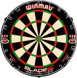 Мишень для дартса Winmau Blade 5 Dual Core (профессиональный уровень)